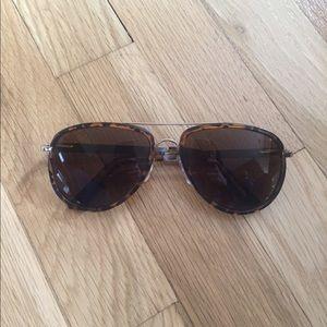 Free people sunglasses aviator leopard 😎